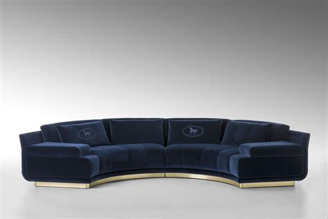 fendi sofa collection fendi casa s eye catching new collection at maison objet