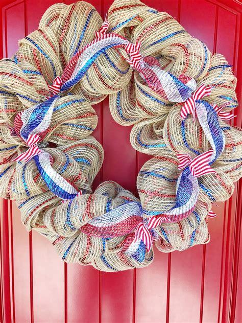 deco mesh wreath kelly lynns sweets