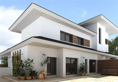house design with white color house design