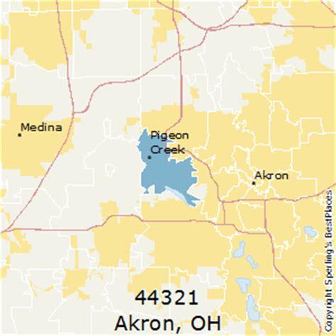 places    akron zip  ohio