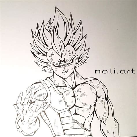 Z Drawing Images by Majin Vegeta Drawing Vegeta Is So Freaking Awesome