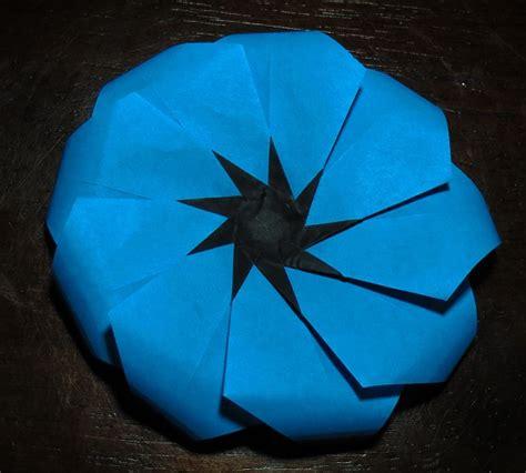 Origami Poppy Flower - poppy printable origami