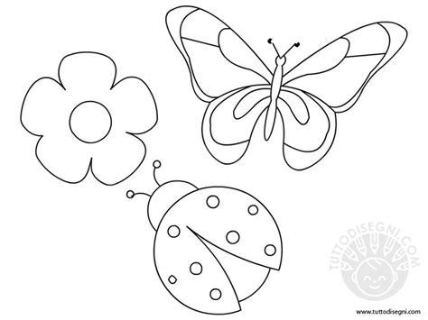 disegni da colorare fiori di primavera disegni di primavera tuttodisegni