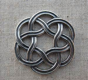 Infinity Knot Sterling Silver Celtic Knot Infinity Pendant 30 Mm