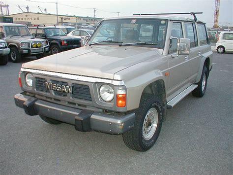 nissan safari road nissan safari gran road 1990 used for sale