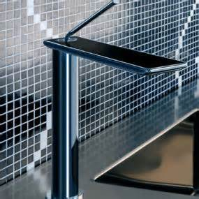 Gessi Kitchen Faucets by Gessi Duplice Faucets New Unusual Geometric Faucet Designs