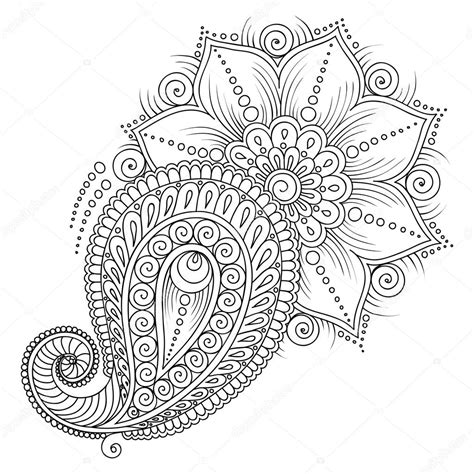 mehndi patterns coloring pages muster f 252 r malbuch buch ausmalbilder f 252 r kinder und adul