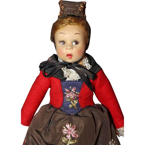 lenci doll lenci mascotte engadina doll from sarabernsteindolls on