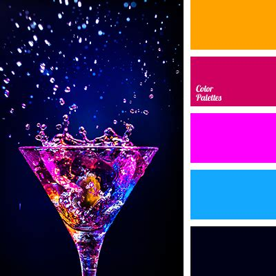 neon color scheme blue and pink tag page 5 of 8 color palette ideas