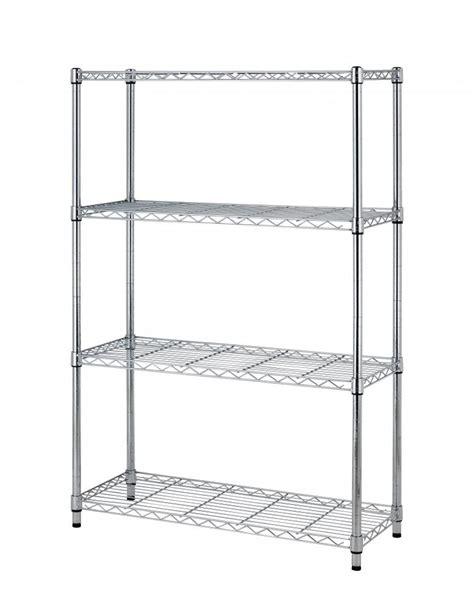 36 Quot X14 Quot X54 Quot 4 Tier Layer Shelf Adjustable Steel Wire Metal Metal Rack Shelving