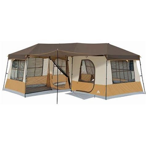 Ozark Trail Cabin Tents by Ozark Trail 12 Person 3 Room Cabin Tent Walmart