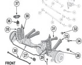 jeep grand front suspension diagram