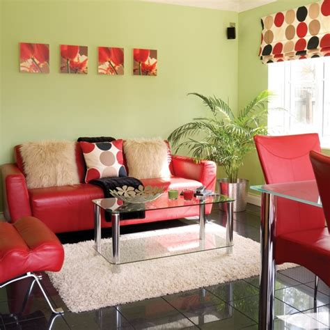 Green And Red Living Room | green red living room housetohome co uk