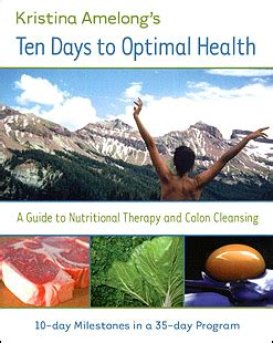 Optimal Health Detox Program by 10 Day Detoxification And Cleansing Diet