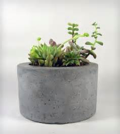 concrete planter home decor lighting