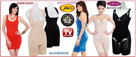 Korset Pelangsing Olla Ramlan kozuii slimming suit infra jaco tv shopping call 0812 8000 7507 ibuhamil
