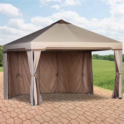gazebo canopy replacement home depot canada gazebo replacement canopy cover garden