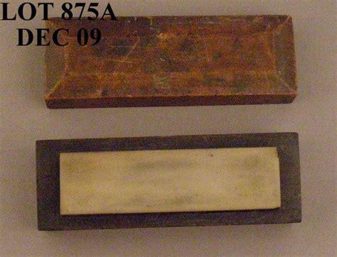 antique sharpening antique arkansas sharpening in original wood box