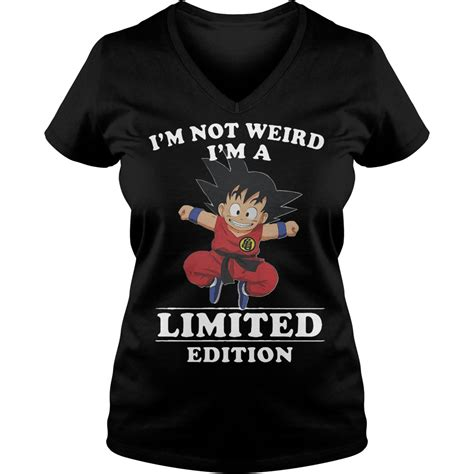 Goku T Shirt Limited songoku i m not i m a limited edition shirt hoodie