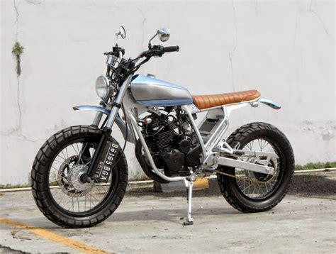 Mono Shock Scirpio Original yamaha scorpio scrambler bikebrewers