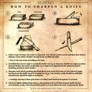 how to sharpen a knife prepare 911 pinterest
