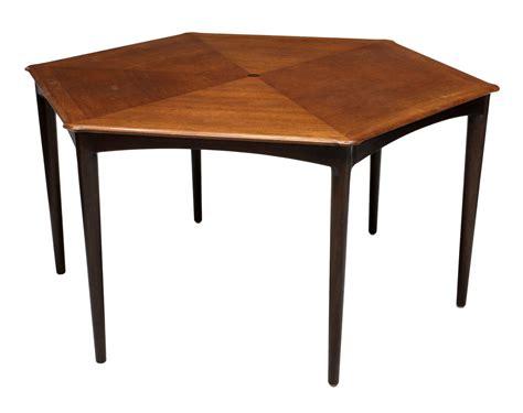 dunbar dining table wormley dunbar hexagon dining table 6400 important two