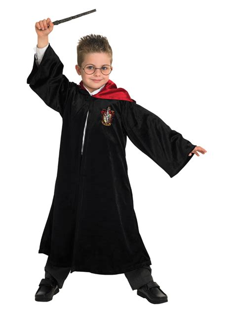 child deluxe harry potter quidditch robe fancy dress