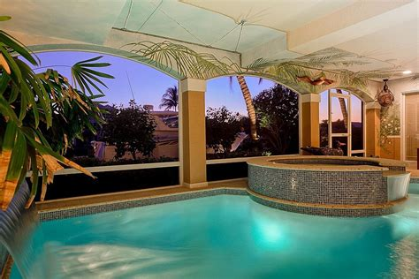 Covered Pools | 45 screened in covered and indoor pool designs