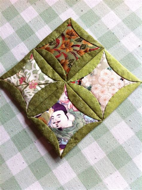 Folded Patchwork Patterns - japanese folded patchwork sle made for demonstration
