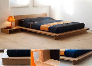 Low Platform Bed Diy For The Bedroom A New Of Feminine Living Space