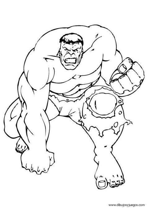 dibujos para pintar hulk dibujos de hulk 002 dibujos y juegos para pintar y colorear