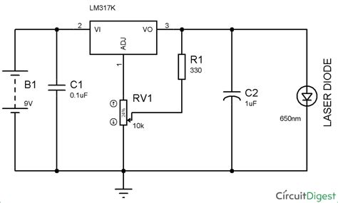 high current laser diode driver circuit circuit diagram of laser diode driver circuit design