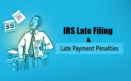 penalties for late filing and payment of your income tax etax1099 blog e file federal irs tax forms 1099 misc