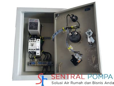 Panel Pompa Submersible panel 1 phase untuk pompa submersible dibawah 1 hp tanpa