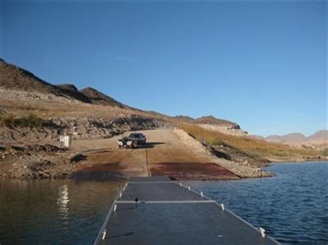 boat launch echo lake echo bay boat r lake mead nra moved to new location