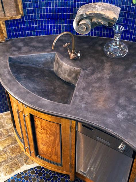 Glass Tile Bar Top by Photo Page Hgtv