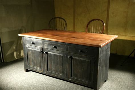 kitchen island with doors 3 door pine kitchen island ecustomfinishes