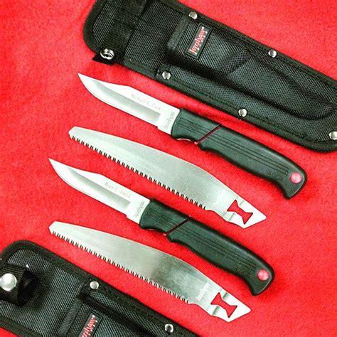 kershaw blade trader kershaw hunters blade trader knife set 1094hbt