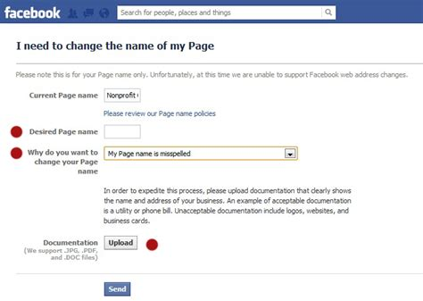 Can You Change Your Name If You A Criminal Record Wish You Could Change The Name Of Your Nonprofit S Page Now You Can