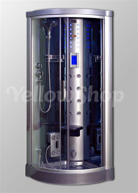 cabina idromassaggio 80x80 box cabina cm 80 x 80 x 215 doccia idromassaggio con sauna