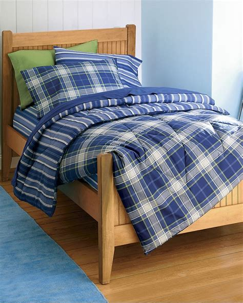 blue plaid bedding kid s blue plaid bedding beautiful bedding pinterest