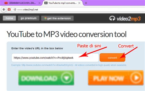 mengubah youtube jadi mp3 cara mendownload video youtube menjadi mp3 kumpulan tips