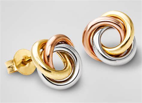 Gold Stud Earrings really beautiful gold stud earrings in 15 pics