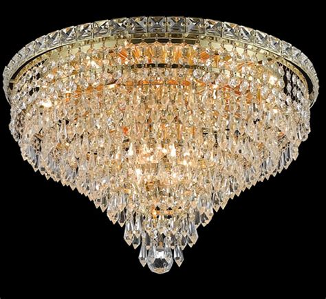 large flush mount ceiling light tranquil collection 20 dia large crystal flush mount