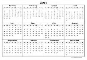 annual calendar template format 2017 blank yearly calendar template free printable templates