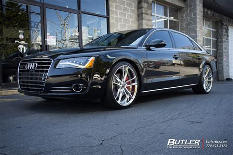 audi a8 with rims audi a8 with 22in savini sv51d wheels exclusively from