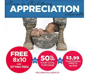 jcpenney portrait printable coupons no sitting fee jcpenney portraits free 8x10 for military families with