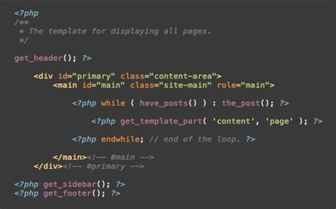 how to build a wordpress theme part 3 html structure