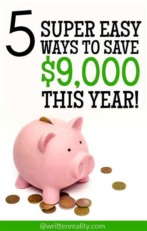 Easy Ways To Economize by Easy Ways To Save Money Written Reality