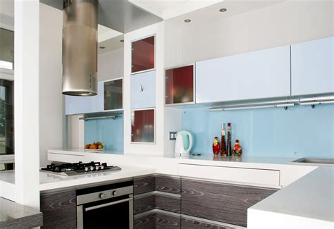 light blue kitchen backsplash 27 blue kitchen ideas pictures of decor paint cabinet